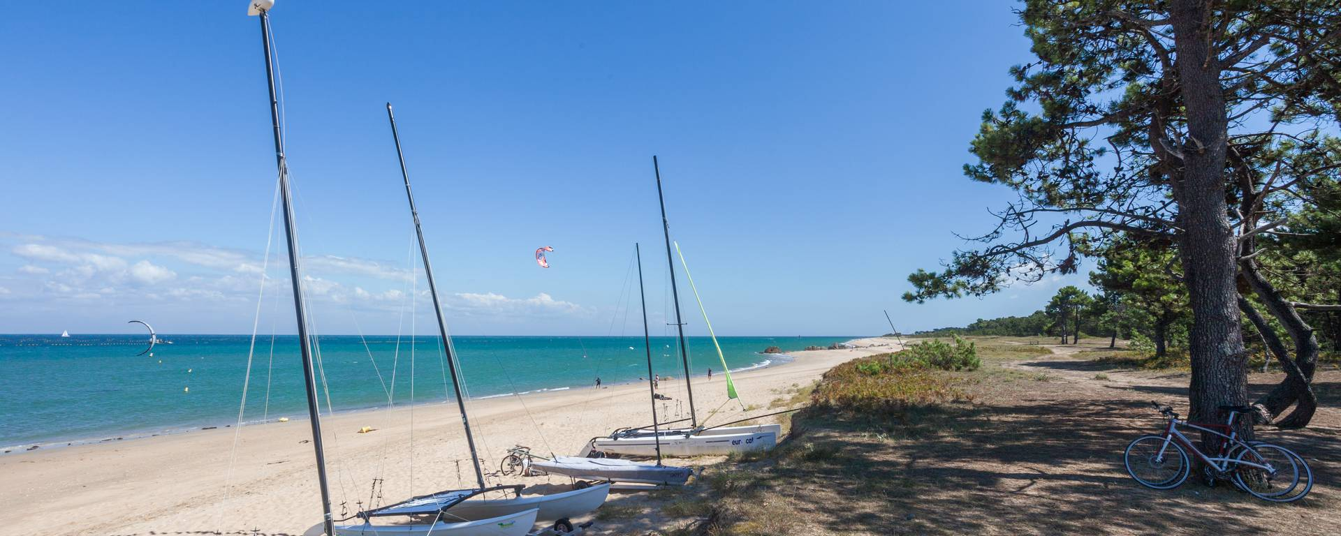 Strand im Nordosten der Ile d'Yeu
