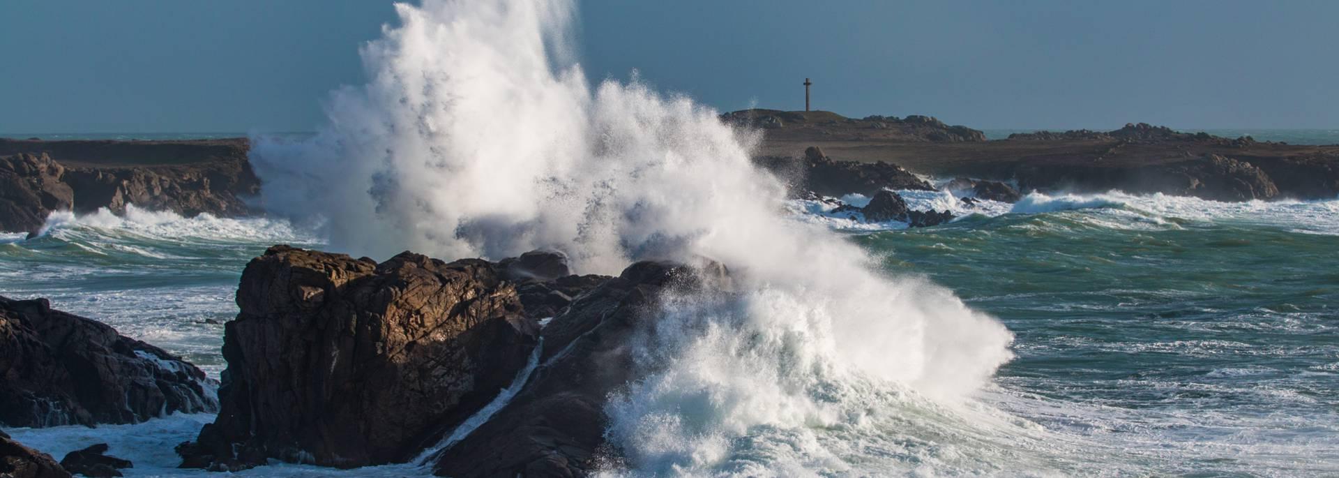 Sturm auf der Ile d'Yeu