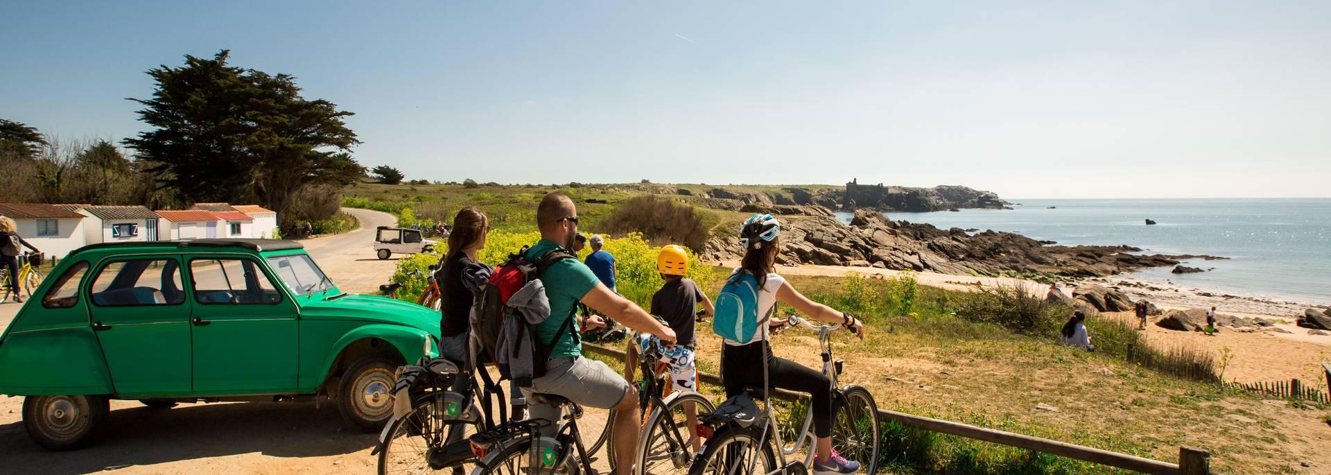 Radfahren auf der Ile d'Yeu