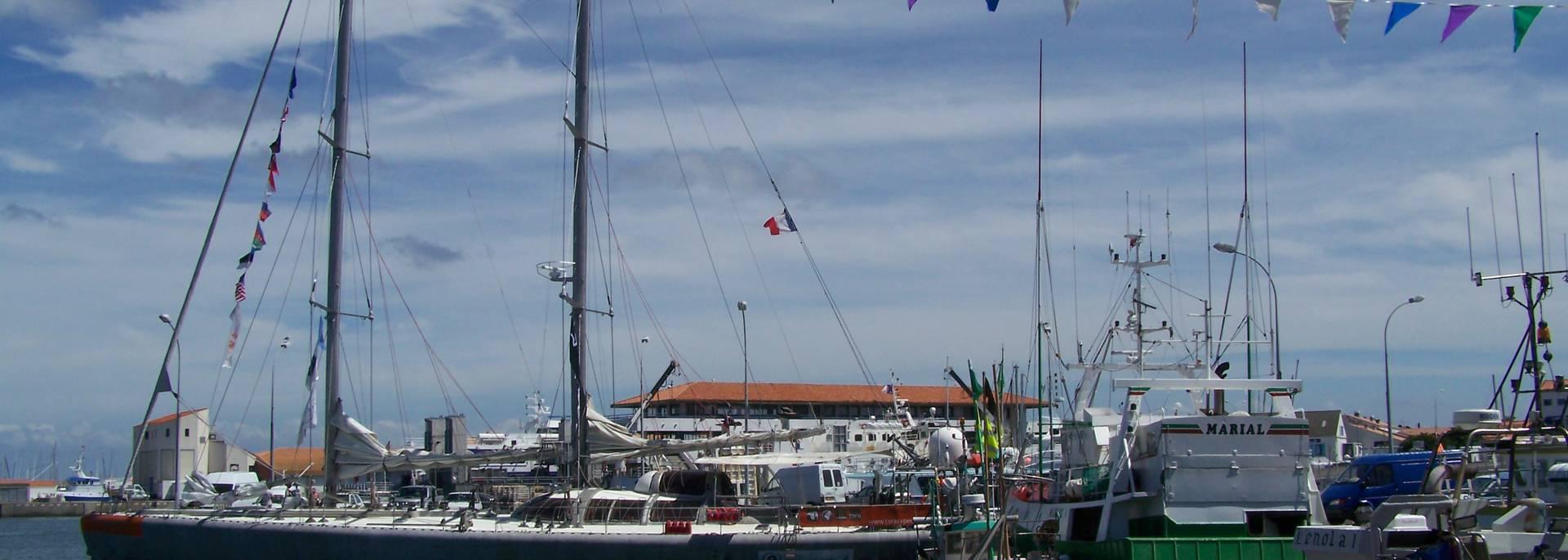 Fahrradausflug - Port Joinville, Ile d'yeu