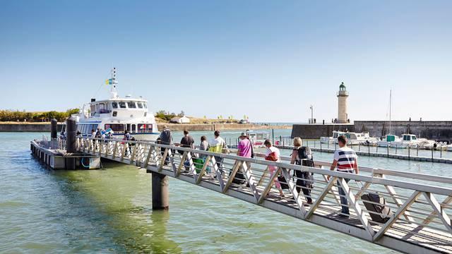 Der Hafen Saint Gilles Croix de Vie