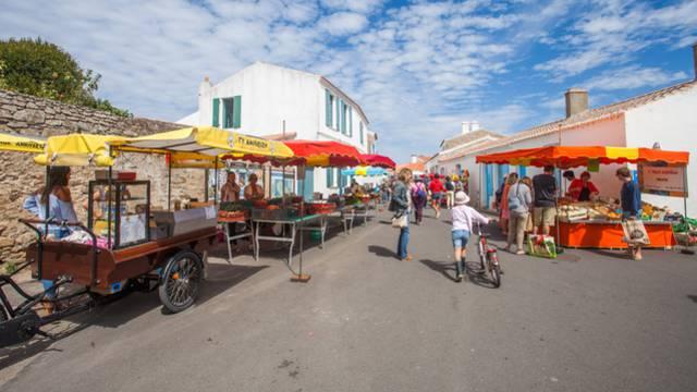 Die Märkte der Insel