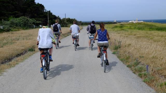 Unterwegs - zu Fuß oder per Fahrrad