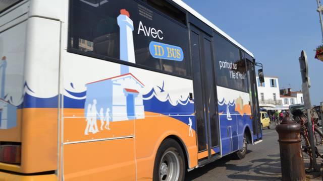 Busfahren auf der Ile d'Yeu