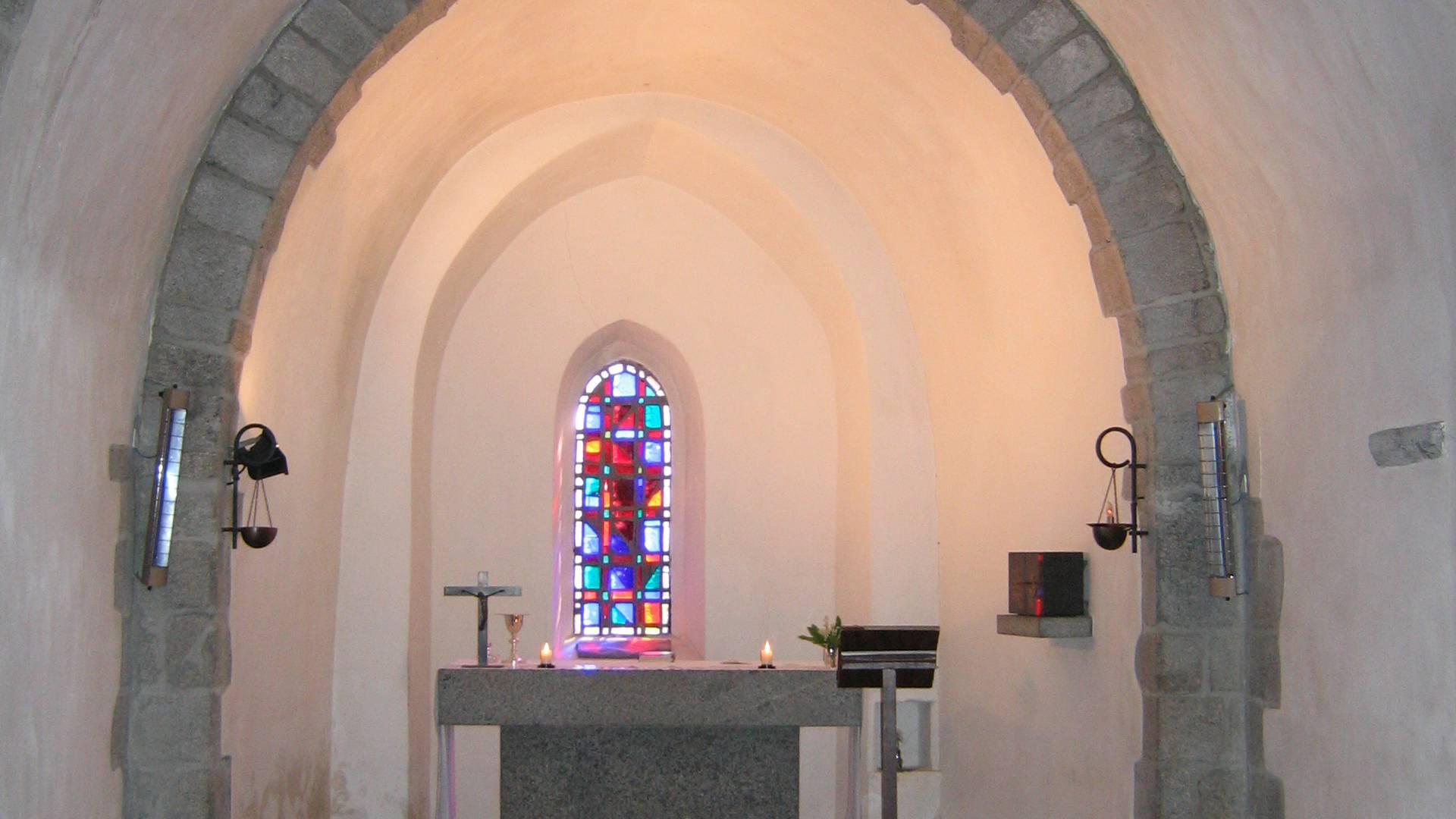 Die Kapelle Notre Dame de la Paix, Ile d'Yeu