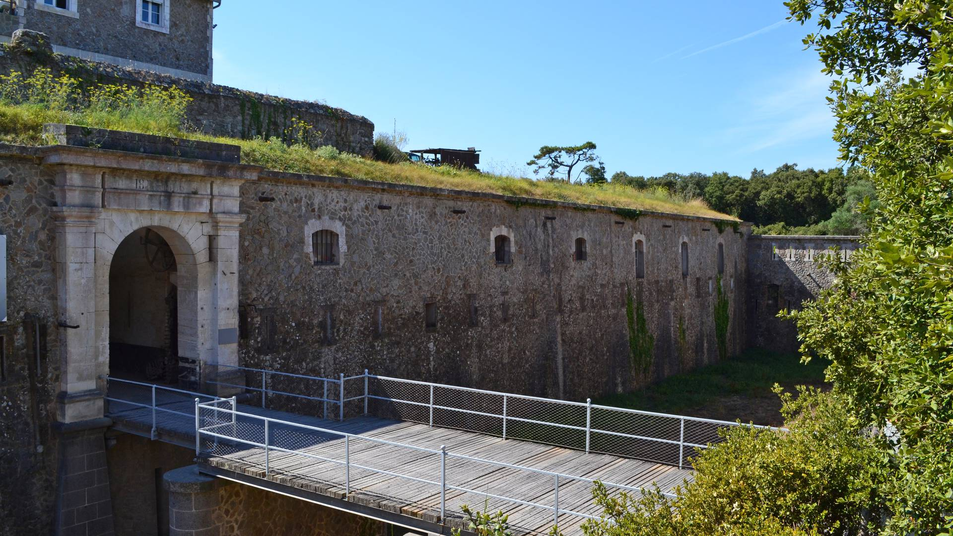Die Zitadelle, Fort de la Pierre Levée, Ile d'Yeu