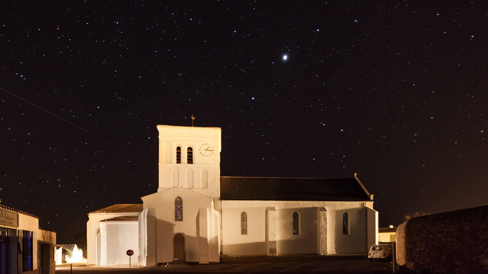Die Kirche von Saint-Sauveur – Île d'Yeu
