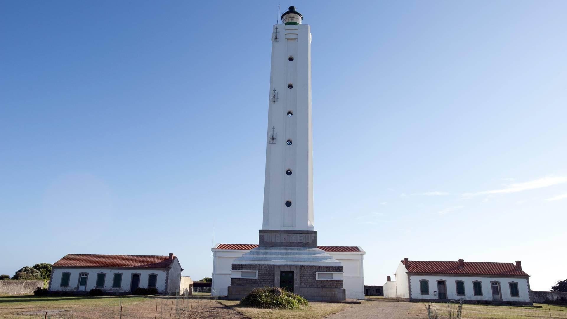 Der Große Leuchtturm gehört zum Gemeineigentum der Ile d'Yeu