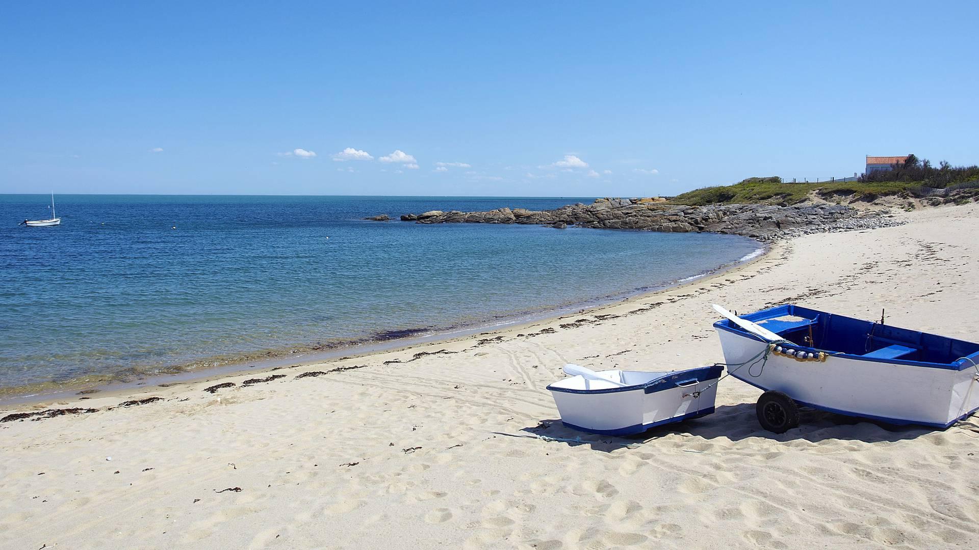 Strand im Nordwesten der Ile d'Yeu