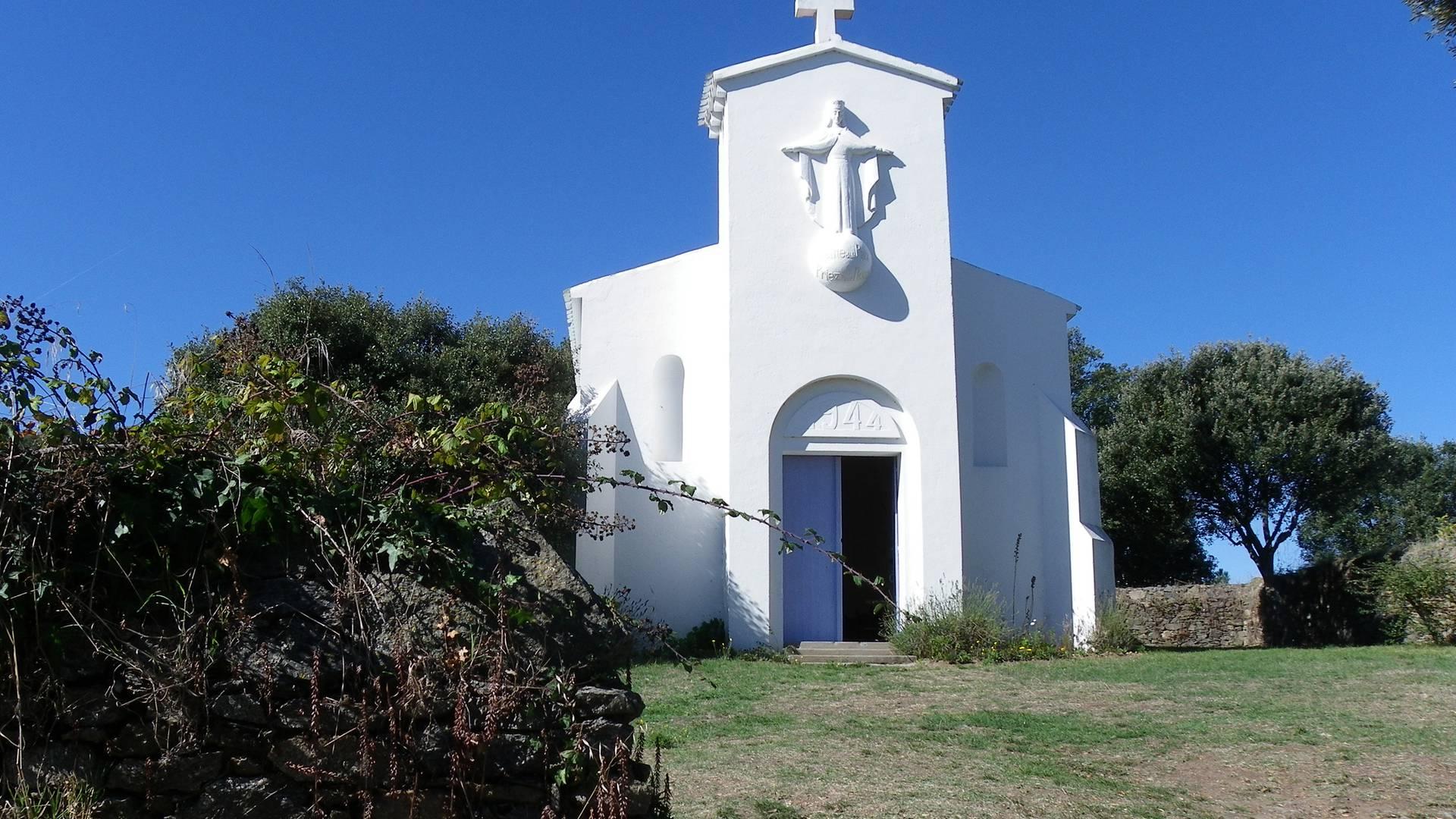 Die Kapelle Notre Dame de la Paix