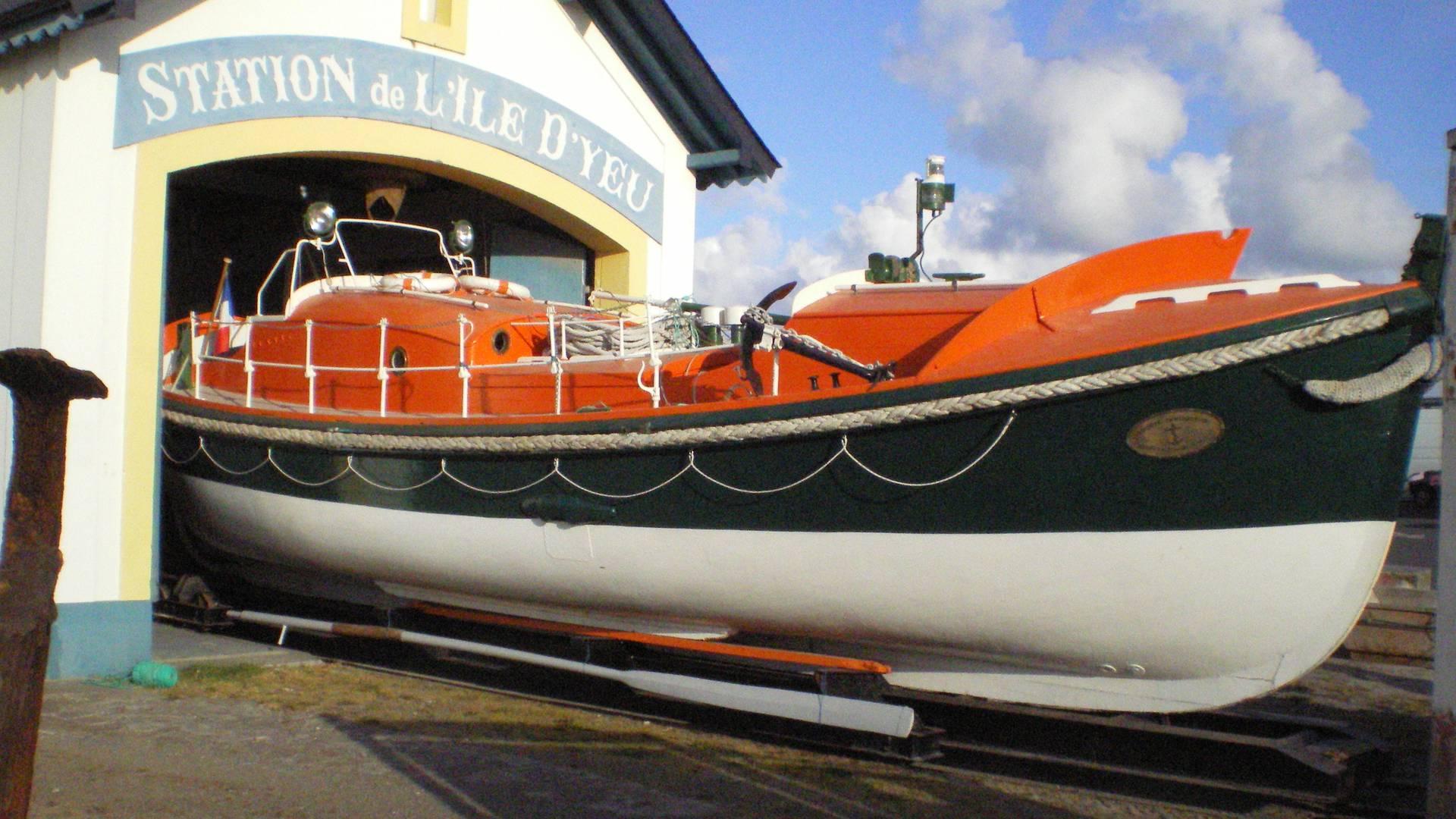 Rettungsboot, Ile d'Yeu