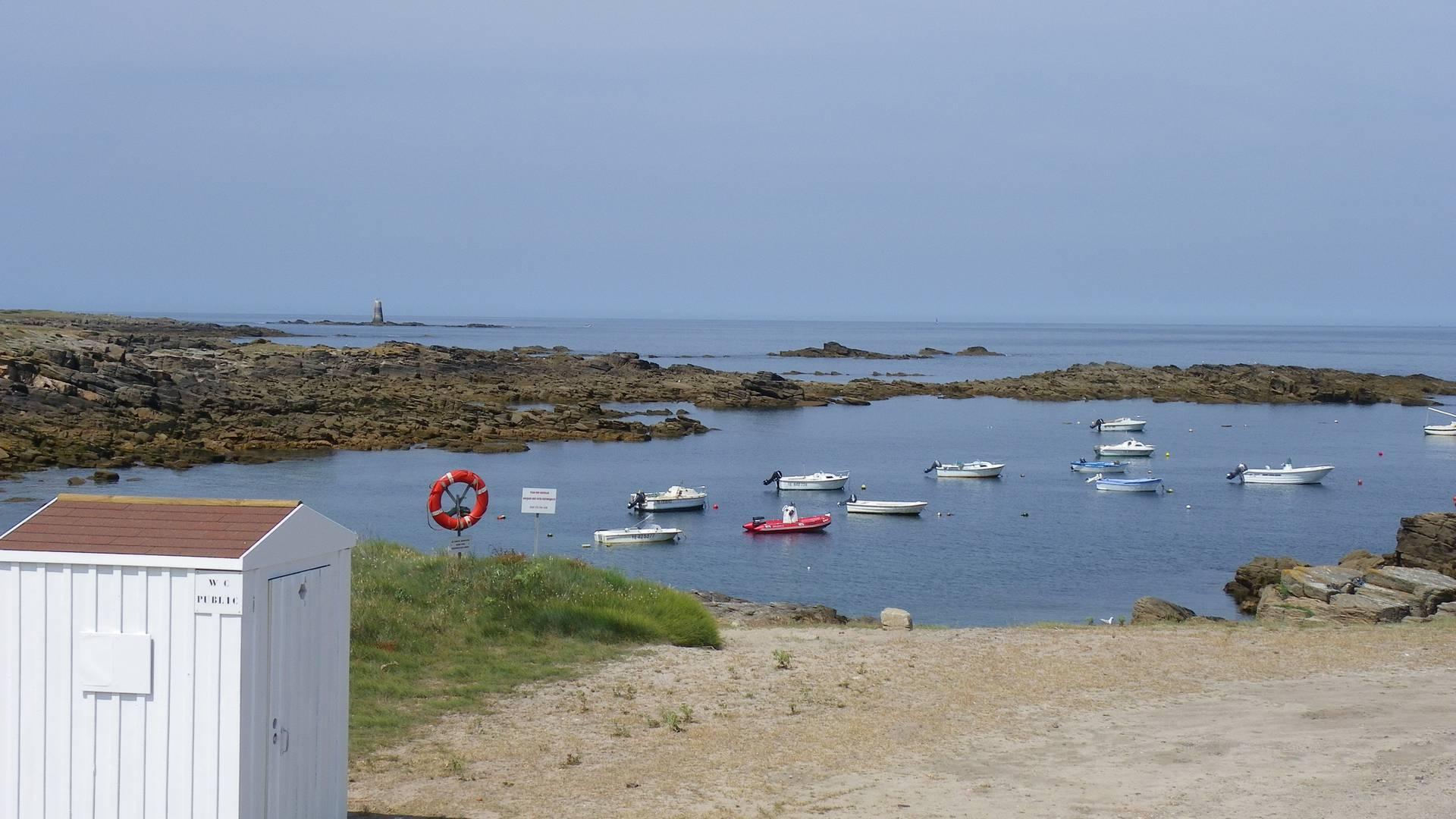 """Die """"Anse des Broches"""" auf der Ile d'Yeu"""