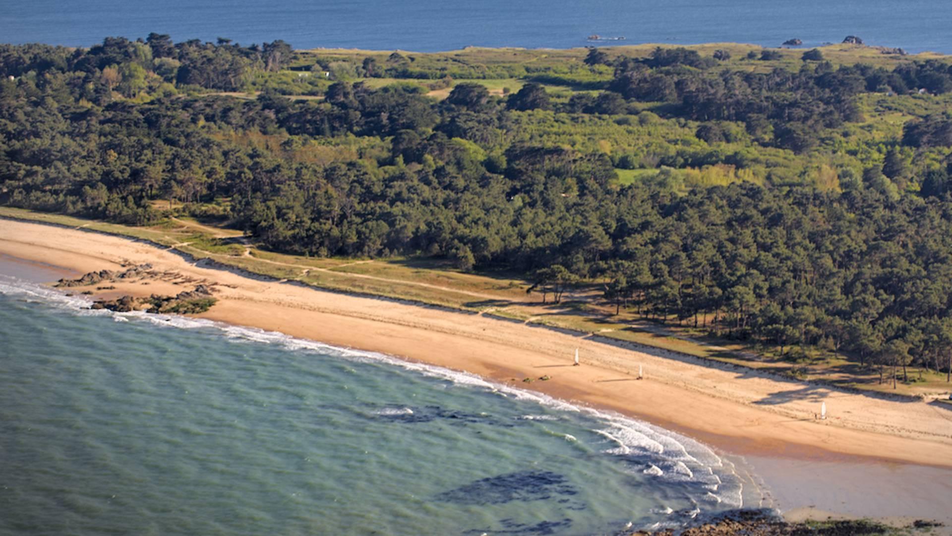 Côte Est - côte dunaire L'île d'Yeu © Aurélien Curtet Photo - www.a-curtet-photo.fr