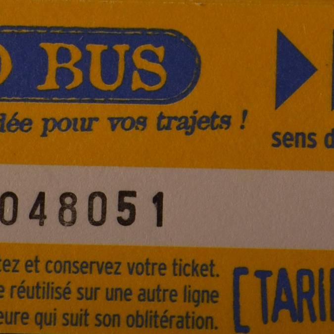 •Fahrscheinheft, 10 Fahrscheine (Kinder von 5 - 12 Jahren) = 10 €