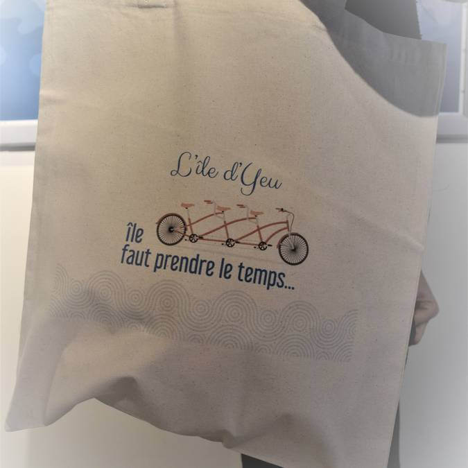 •Leinentasche - Tote Bag Ile d'Yeu (8 €)