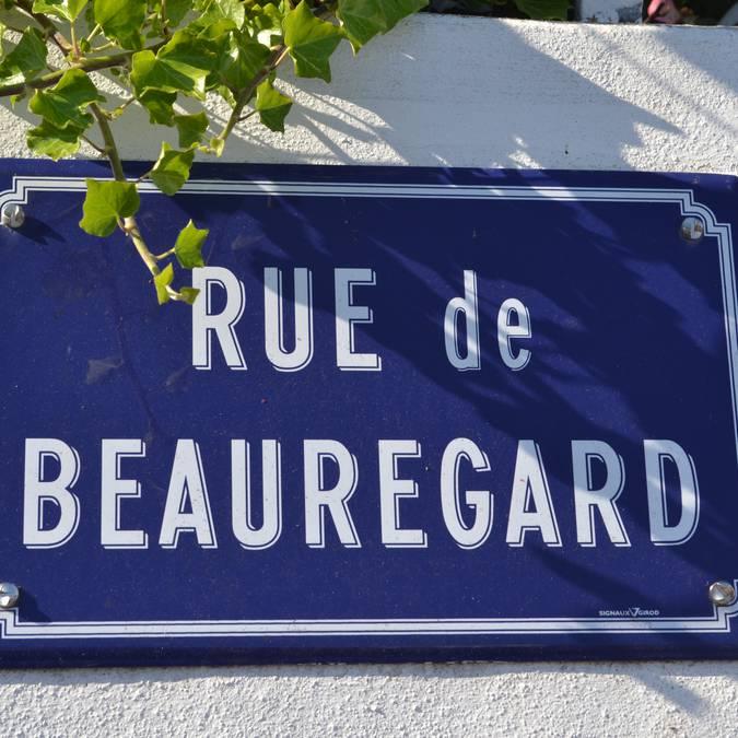 Straßen in Saint-Sauveur, Ile d'Yeu