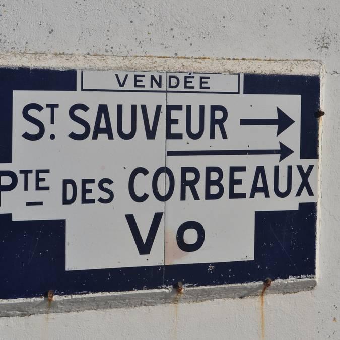 Straßen in Saint Sauveur, Ile d'Yeu