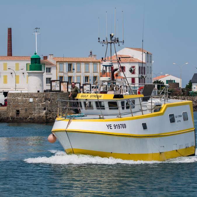 Der Fischerhafen Port-Joinville, Ile d'Yeu