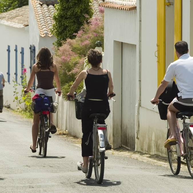 Radwanderung in La Meule, Ile d'Yeu