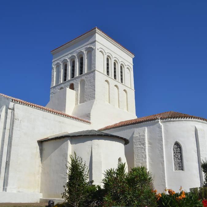 Die Kirche Saint Sauveur, Ile d'Yeu