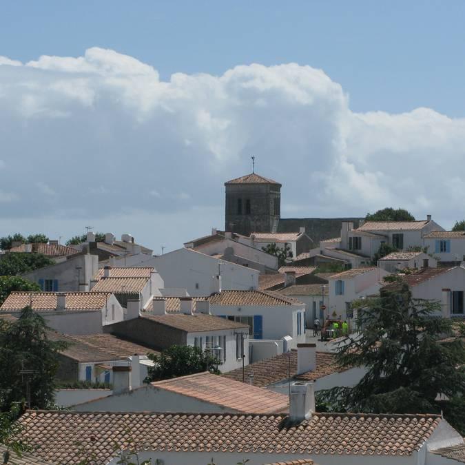 les toits du village de Saint-Sauveur, Ile d'Yeu
